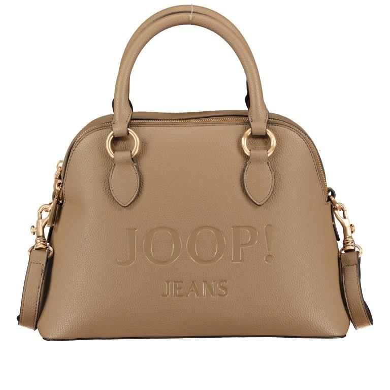 Handtasche Lettera Nava SHZ, Farbe: schwarz, taupe/khaki, Marke: Joop!, Abmessungen in cm: 31.0x22.5x11.0, Bild 1 von 7