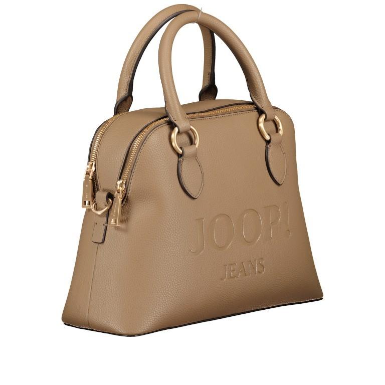 Handtasche Lettera Nava SHZ, Farbe: schwarz, taupe/khaki, Marke: Joop!, Abmessungen in cm: 31.0x22.5x11.0, Bild 2 von 7