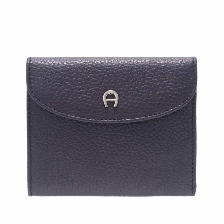 Damenbörse Basics, Farbe: schwarz, blau/petrol, rot/weinrot, Marke: AIGNER, Bild 1 von 1