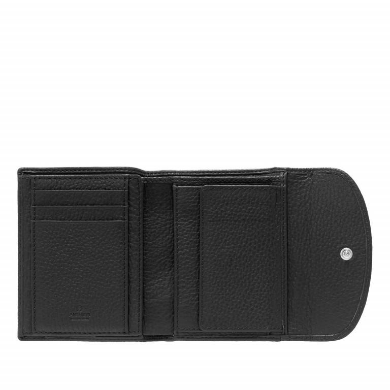 Damenbörse Basics Black, Farbe: schwarz, Marke: AIGNER, EAN: 4055539017575, Abmessungen in cm: 12.0x10.0x2.0, Bild 2 von 2