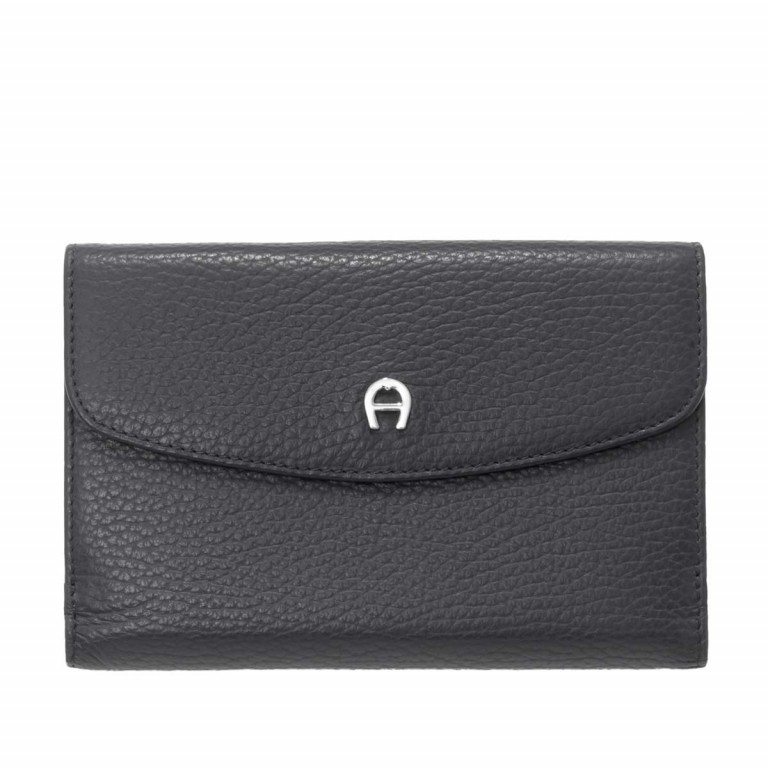 Geldbörse Basics 152-214, Farbe: schwarz, blau/petrol, rot/weinrot, Marke: AIGNER, Bild 1 von 1