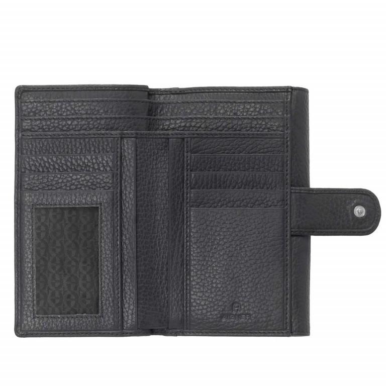 Geldbörse Basics 152-214 Black, Farbe: schwarz, Marke: AIGNER, EAN: 4055539017674, Abmessungen in cm: 16.0x11.0x2.5, Bild 2 von 2