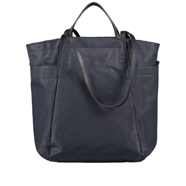 Shopper Japan Takamatsu, Farbe: schwarz, grau, blau/petrol, taupe/khaki, Marke: Aunts & Uncles, Abmessungen in cm: 38.0x34.0x11.0, Bild 1 von 8