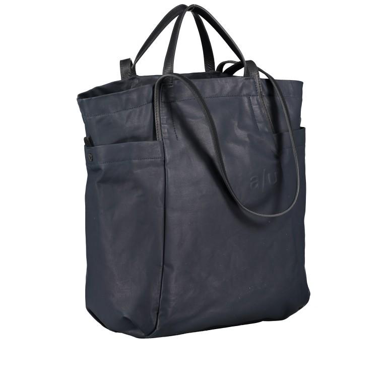 Shopper Japan Takamatsu, Farbe: schwarz, grau, blau/petrol, taupe/khaki, Marke: Aunts & Uncles, Abmessungen in cm: 38.0x34.0x11.0, Bild 2 von 8