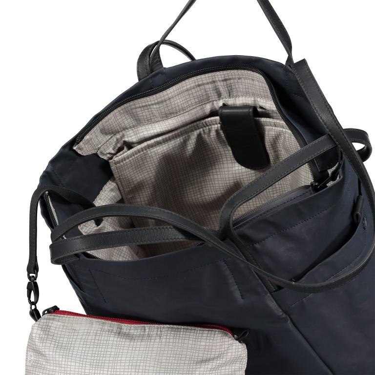 Shopper Japan Takamatsu, Farbe: schwarz, grau, blau/petrol, taupe/khaki, Marke: Aunts & Uncles, Abmessungen in cm: 38.0x34.0x11.0, Bild 7 von 8