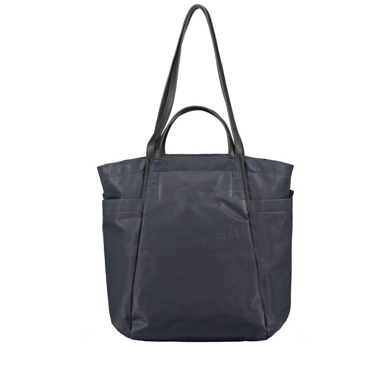 Shopper Japan Takamatsu, Farbe: schwarz, grau, blau/petrol, taupe/khaki, Marke: Aunts & Uncles, Abmessungen in cm: 38.0x34.0x11.0, Bild 8 von 8