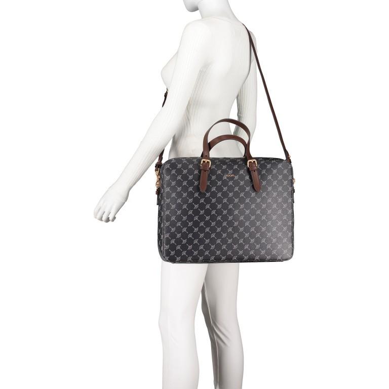 Shopper Cortina Nanni LHZ Black, Farbe: schwarz, Marke: Joop!, EAN: 4053533884315, Abmessungen in cm: 38.5x30.0x10.0, Bild 6 von 9