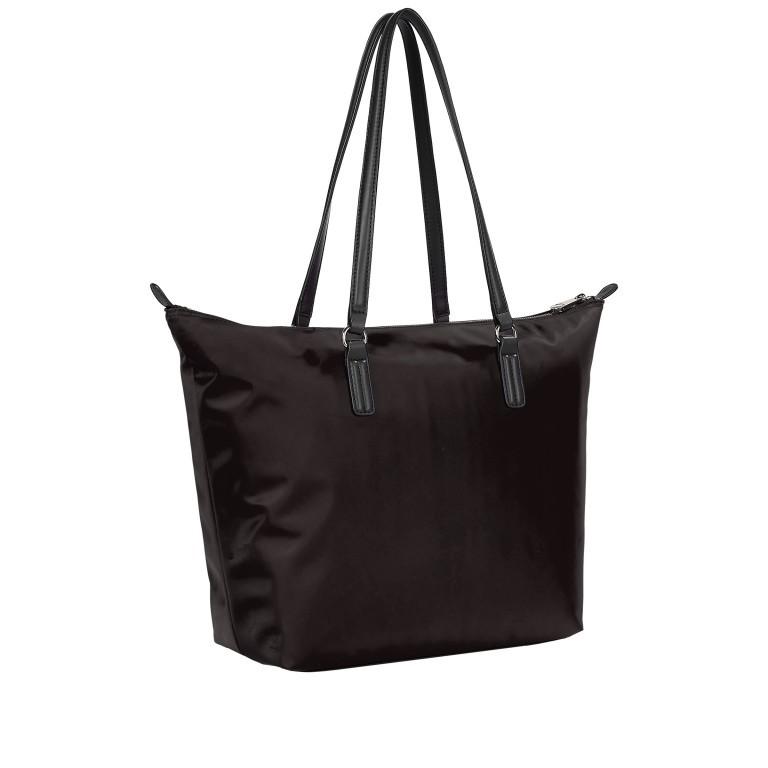 Shopper Poppy Tote, Farbe: schwarz, rot/weinrot, gelb, Marke: Tommy Hilfiger, Abmessungen in cm: 48.0x32.0x14.0 , Bild 2 von 2