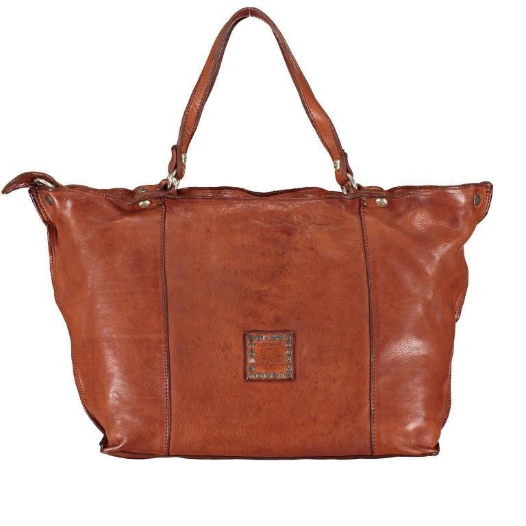 Handtasche Bella Di Notte 25840-X1572, Farbe: anthrazit, cognac, Marke: Campomaggi, Abmessungen in cm: 30.0/40.0x25.0x14.0/4.0, Bild 3 von 9