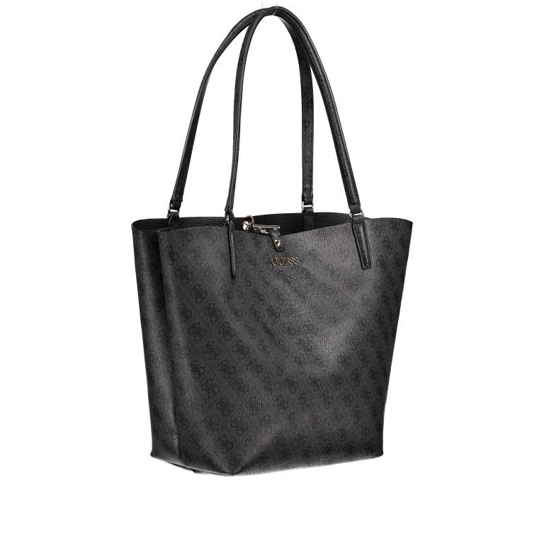 Shopper Alby, Farbe: schwarz, braun, Marke: Guess, Bild 2 von 13