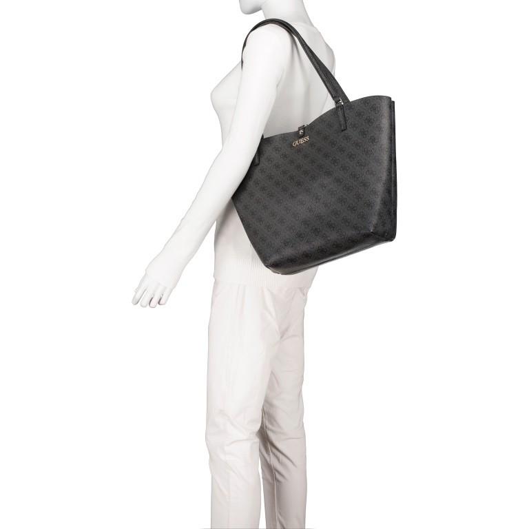 Shopper Alby, Farbe: schwarz, braun, Marke: Guess, Bild 4 von 13