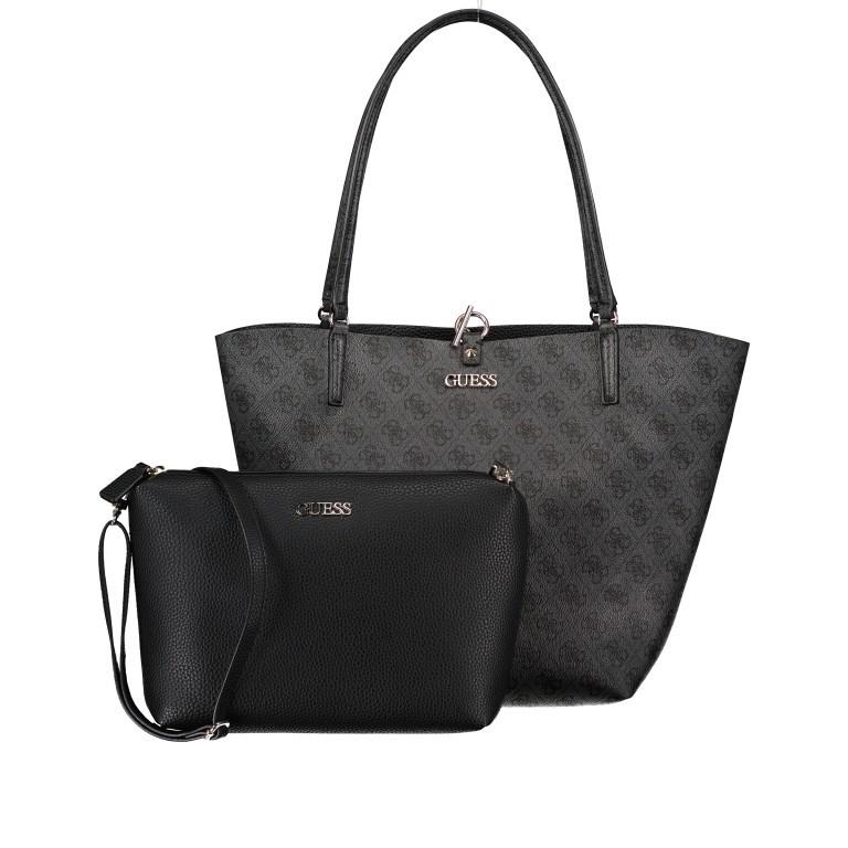 Shopper Alby, Farbe: schwarz, braun, Marke: Guess, Bild 12 von 13