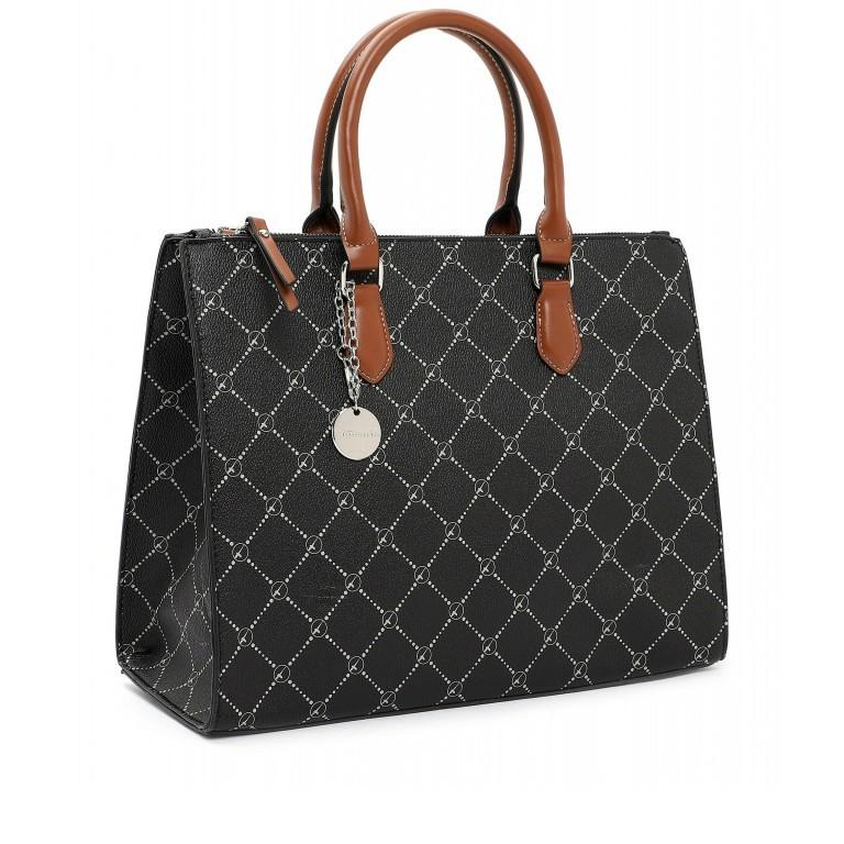 Shopper Anastasia, Farbe: schwarz, grau, blau/petrol, taupe/khaki, Marke: Tamaris, Abmessungen in cm: 35.0x26.0x17.0, Bild 2 von 5