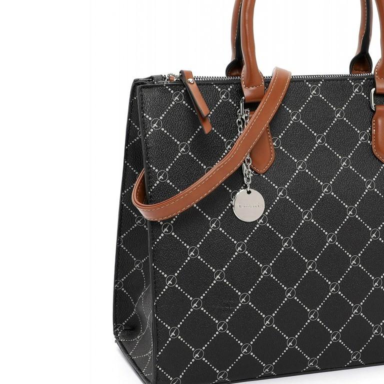 Shopper Anastasia, Farbe: schwarz, grau, blau/petrol, taupe/khaki, Marke: Tamaris, Abmessungen in cm: 35.0x26.0x17.0, Bild 5 von 5