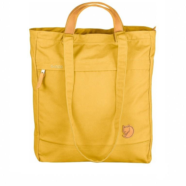 Tasche Totepack No. 1, Farbe: schwarz, grau, blau/petrol, cognac, taupe/khaki, grün/oliv, rot/weinrot, orange, gelb, Marke: Fjällräven, Bild 1 von 11