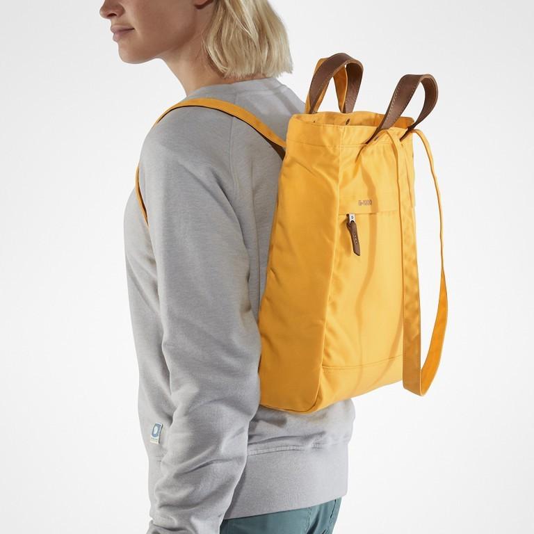 Tasche Totepack No. 1, Farbe: schwarz, grau, blau/petrol, cognac, taupe/khaki, grün/oliv, rot/weinrot, orange, gelb, Marke: Fjällräven, Bild 5 von 11