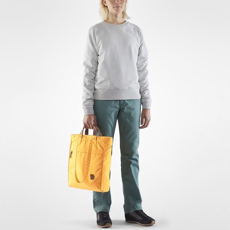Tasche Totepack No. 1, Farbe: schwarz, grau, blau/petrol, cognac, taupe/khaki, grün/oliv, rot/weinrot, orange, gelb, Marke: Fjällräven, Bild 7 von 11