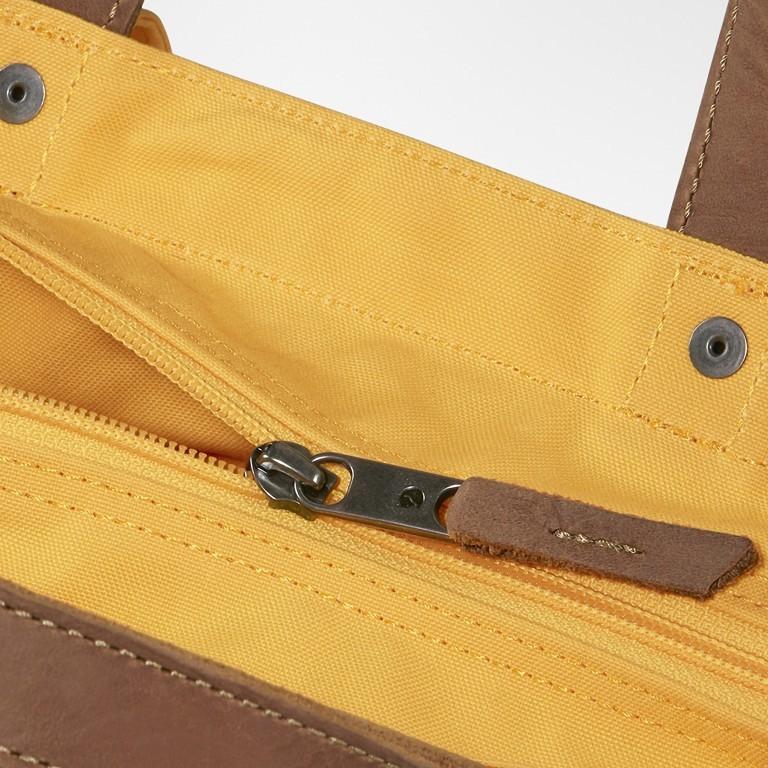 Tasche Totepack No. 1, Farbe: schwarz, grau, blau/petrol, cognac, taupe/khaki, grün/oliv, rot/weinrot, orange, gelb, Marke: Fjällräven, Bild 9 von 11