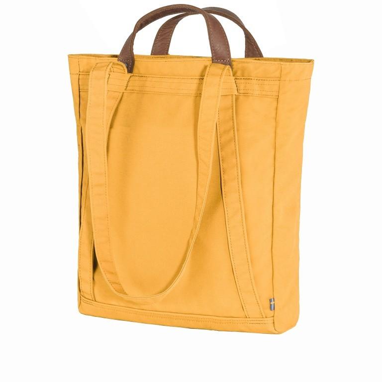 Tasche Totepack No. 1, Farbe: schwarz, grau, blau/petrol, cognac, taupe/khaki, grün/oliv, rot/weinrot, orange, gelb, Marke: Fjällräven, Bild 2 von 11