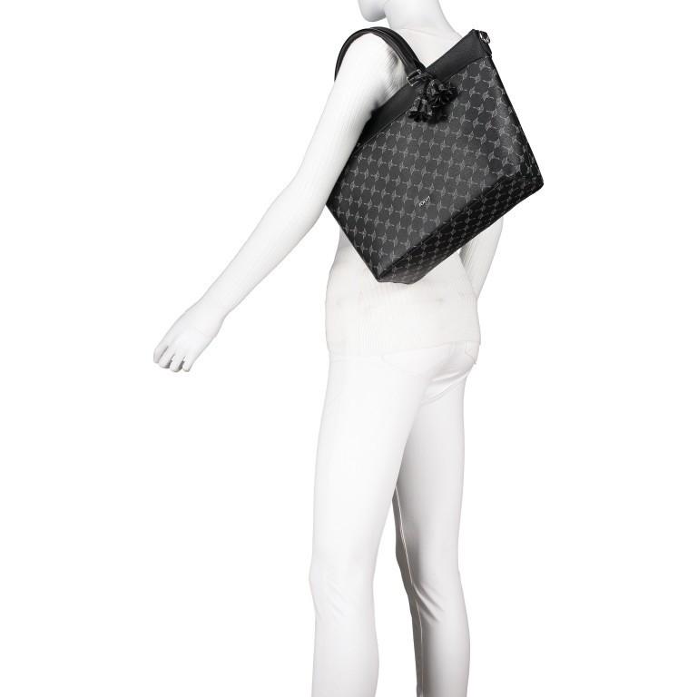 Handtasche Cortina Thoosa LHZ, Farbe: schwarz, anthrazit, grau, blau/petrol, braun, cognac, taupe/khaki, grün/oliv, rot/weinrot, beige, weiß, Marke: Joop!, Abmessungen in cm: 41.0x27.0x13.5, Bild 5 von 9