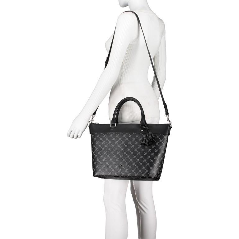 Handtasche Cortina Thoosa LHZ, Farbe: schwarz, anthrazit, grau, blau/petrol, braun, cognac, taupe/khaki, grün/oliv, rot/weinrot, beige, weiß, Marke: Joop!, Abmessungen in cm: 41.0x27.0x13.5, Bild 6 von 9
