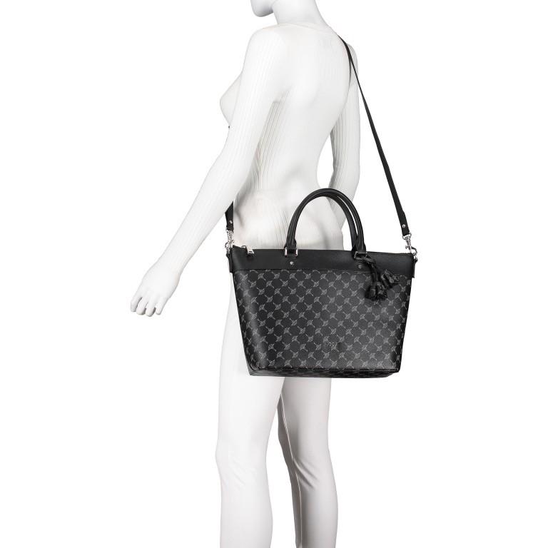 Handtasche Cortina Thoosa LHZ, Farbe: schwarz, anthrazit, grau, blau/petrol, braun, cognac, taupe/khaki, grün/oliv, rot/weinrot, beige, weiß, Marke: Joop!, Abmessungen in cm: 41.0x27.0x13.5, Bild 7 von 9