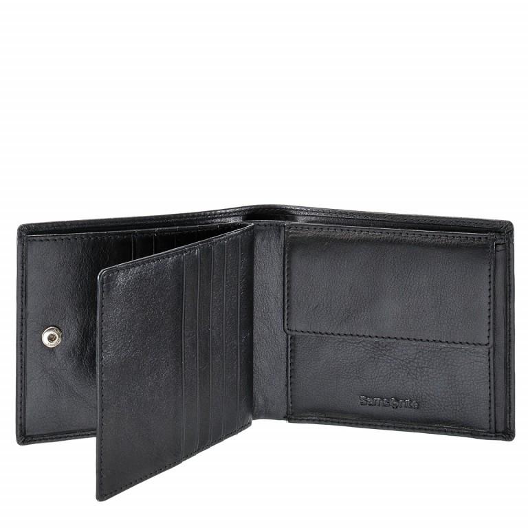 Geldbörse Success 54573 Black, Farbe: schwarz, Marke: Samsonite, EAN: 5414847384844, Abmessungen in cm: 9.0x12.5x1.5, Bild 1 von 3
