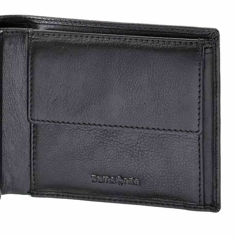 Geldbörse Success 54573 Black, Farbe: schwarz, Marke: Samsonite, EAN: 5414847384844, Abmessungen in cm: 9.0x12.5x1.5, Bild 3 von 3