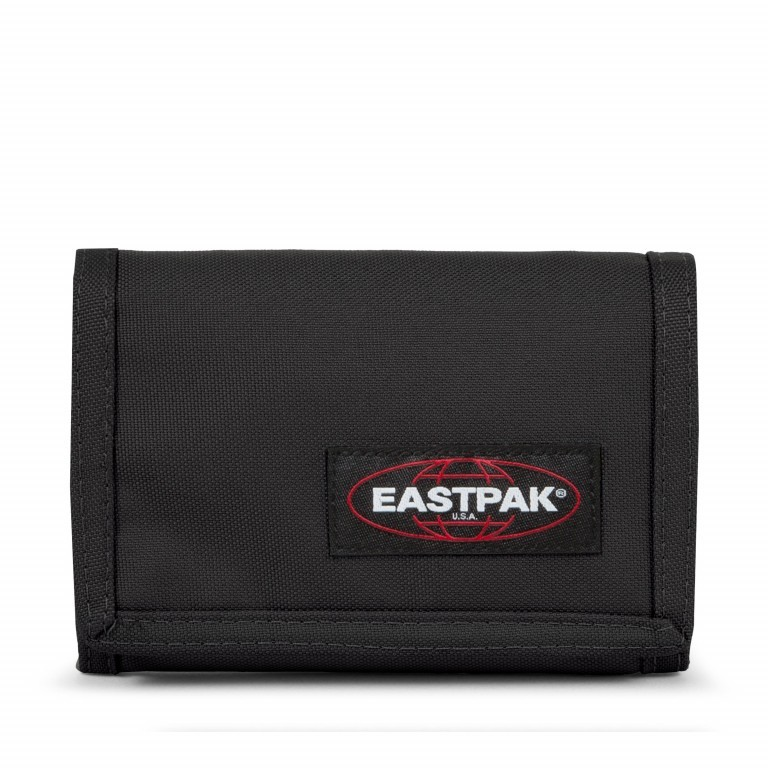 Geldbörse Crew Black, Farbe: schwarz, Marke: Eastpak, EAN: 0617931257023, Abmessungen in cm: 12.8x9.5, Bild 1 von 5