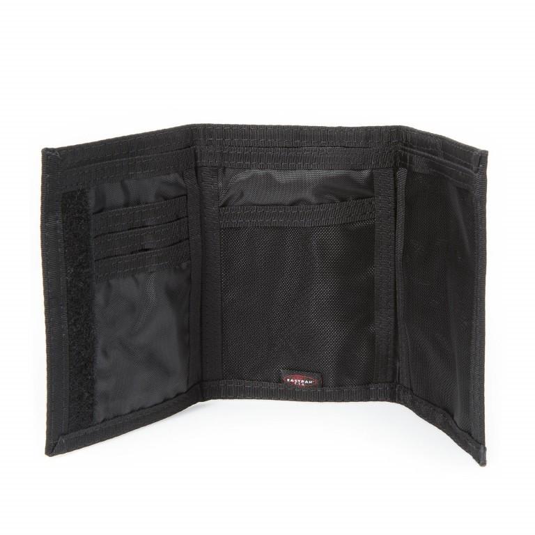Geldbörse Crew Black, Farbe: schwarz, Marke: Eastpak, EAN: 0617931257023, Abmessungen in cm: 12.8x9.5, Bild 4 von 5
