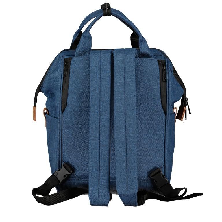 Fahrradtasche Rucksack mit Gepäckträgerbefestigung Black, Farbe: schwarz, Marke: Blackbeat, EAN: 8720088706978, Abmessungen in cm: 25.0x35.0x15.0, Bild 3 von 9