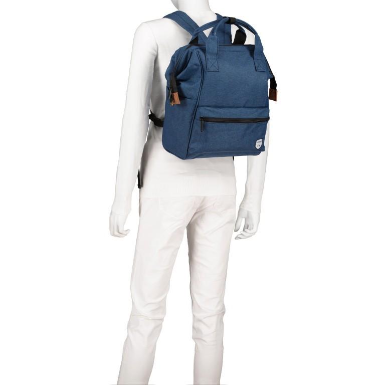 Fahrradtasche Rucksack mit Gepäckträgerbefestigung Black, Farbe: schwarz, Marke: Blackbeat, EAN: 8720088706978, Abmessungen in cm: 25.0x35.0x15.0, Bild 4 von 9