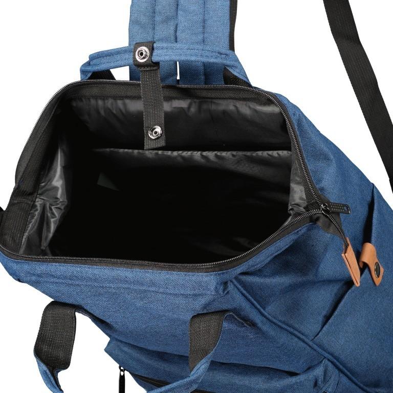 Fahrradtasche Rucksack mit Gepäckträgerbefestigung Black, Farbe: schwarz, Marke: Blackbeat, EAN: 8720088706978, Abmessungen in cm: 25.0x35.0x15.0, Bild 5 von 9