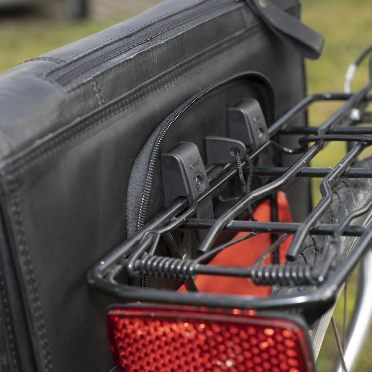 The Chesterfield Brand Fahrradtasche Gent C50-6001., Farbe: schwarz, braun, cognac, Marke: The Chesterfield Brand, Abmessungen in cm: 40.0x30.0x11.0, Bild 8 von 11
