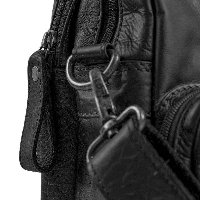 The Chesterfield Brand Fahrradtasche Geneva C50-6002., Farbe: schwarz, braun, cognac, Marke: The Chesterfield Brand, Abmessungen in cm: 40.0x30.0x14.0, Bild 12 von 12