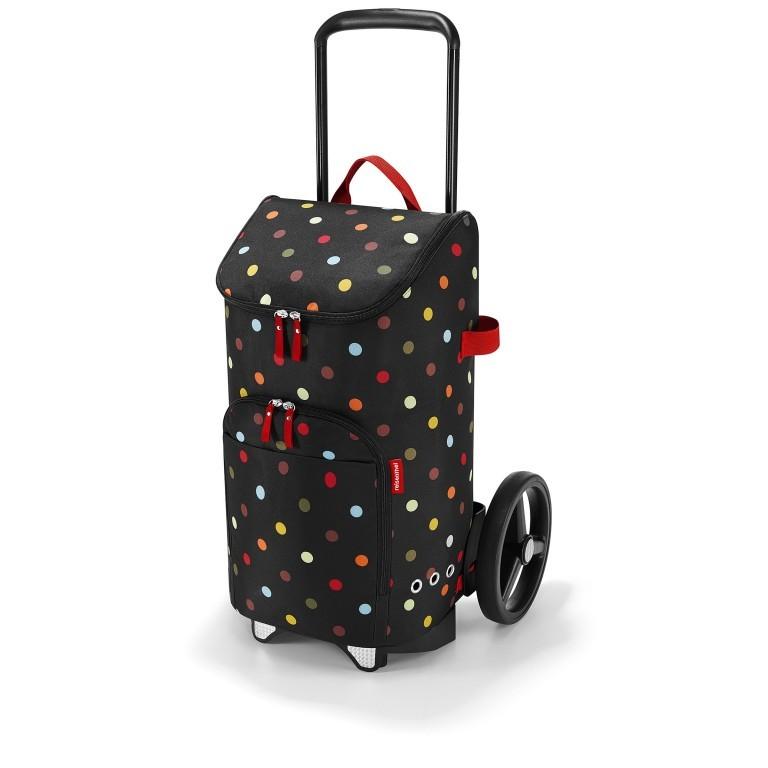 Einkaufsroller Citycruiser Set 2 teilig Rack + Bag, Farbe: schwarz, rot/weinrot, bunt, Marke: Reisenthel, Bild 1 von 14