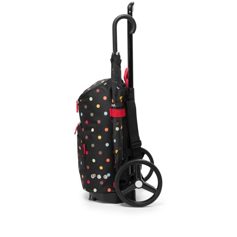 Einkaufsroller Citycruiser Set 2 teilig Rack + Bag, Farbe: schwarz, rot/weinrot, bunt, Marke: Reisenthel, Bild 3 von 14