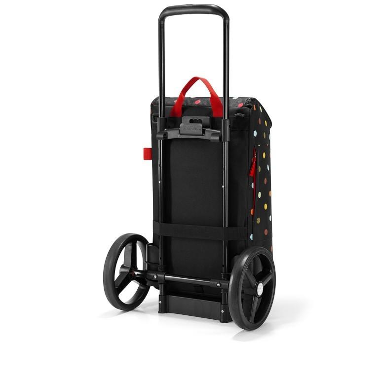 Einkaufsroller Citycruiser Set 2 teilig Rack + Bag, Farbe: schwarz, rot/weinrot, bunt, Marke: Reisenthel, Bild 4 von 14