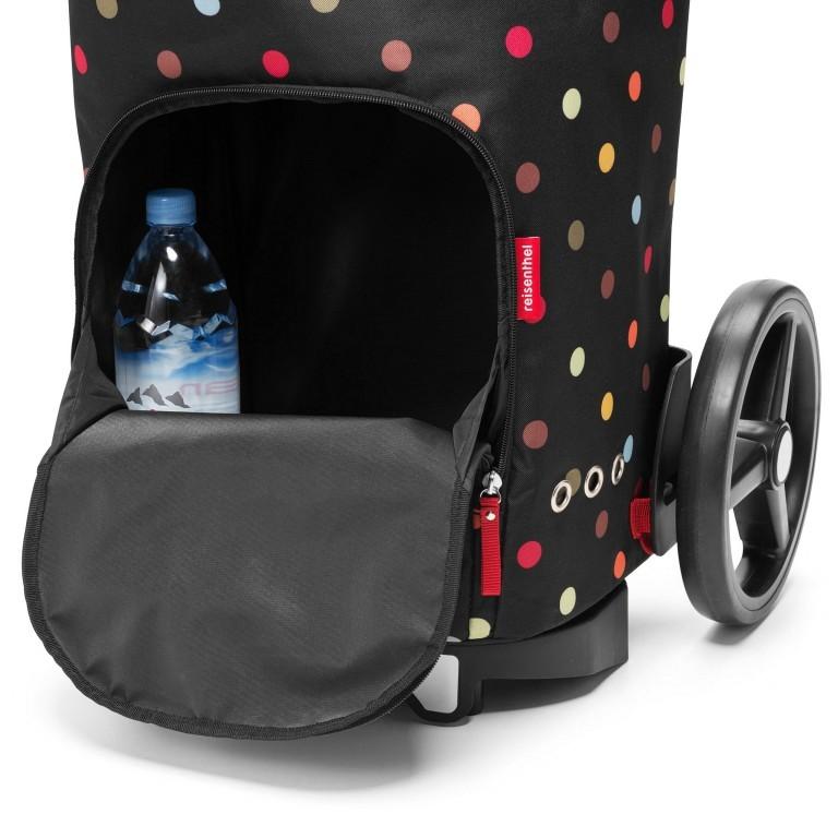 Einkaufsroller Citycruiser Set 2 teilig Rack + Bag, Farbe: schwarz, rot/weinrot, bunt, Marke: Reisenthel, Bild 5 von 14