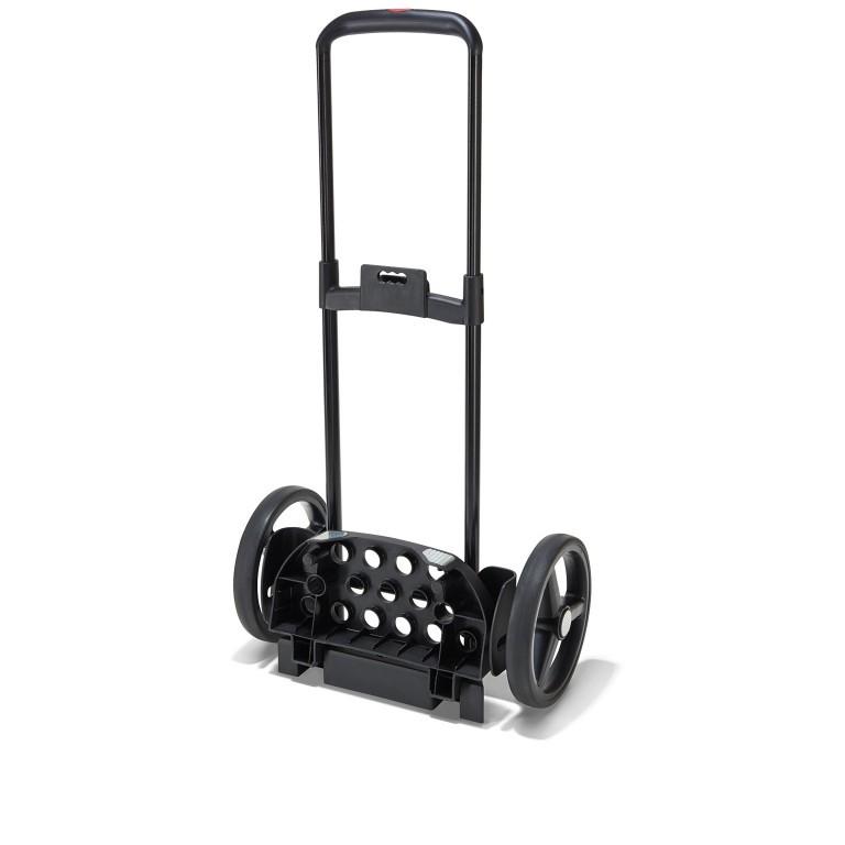 Einkaufsroller Citycruiser Set 2 teilig Rack + Bag, Farbe: schwarz, rot/weinrot, bunt, Marke: Reisenthel, Bild 10 von 14