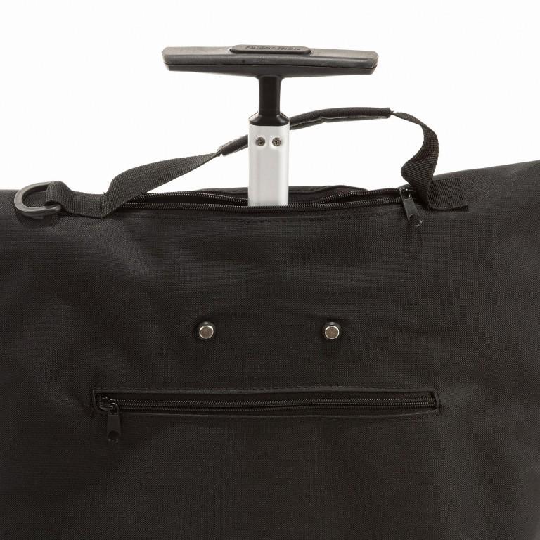 Einkaufsroller Trolley M, Farbe: schwarz, anthrazit, blau/petrol, braun, taupe/khaki, rot/weinrot, rosa/pink, orange, weiß, Marke: Reisenthel, Abmessungen in cm: 43.0x53.0x21.0, Bild 4 von 5