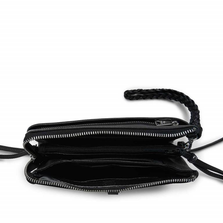Umhängetasche Cormorano Nellie Black, Farbe: schwarz, Marke: Adax, EAN: 5705483160696, Abmessungen in cm: 20.0x12.0x3.0, Bild 3 von 5
