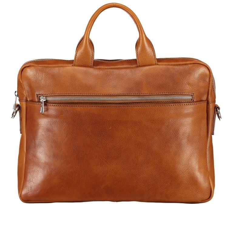 Hausfelder Aktentasche I-NAN-4317, Farbe: braun, cognac, Marke: Hausfelder, Abmessungen in cm: 38.0x29.0x7.0, Bild 1 von 1