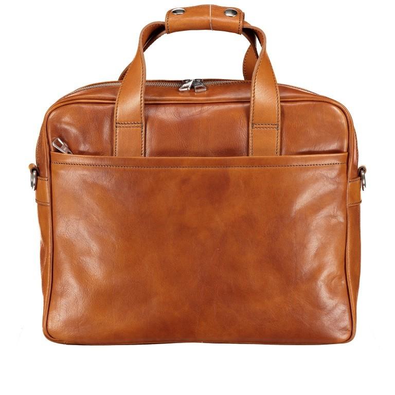 Hausfelder Aktentasche I-NAN-4575-M, Farbe: braun, cognac, Marke: Hausfelder, Abmessungen in cm: 39.0x32.0x10.0, Bild 1 von 1