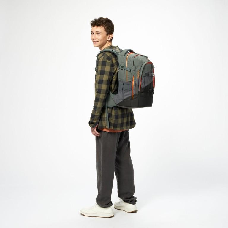 Rucksack Pack Limited Edition Now or Never, Farbe: anthrazit, flieder/lila, Marke: Satch, Abmessungen in cm: 30.0x45.0x22.0, Bild 10 von 19