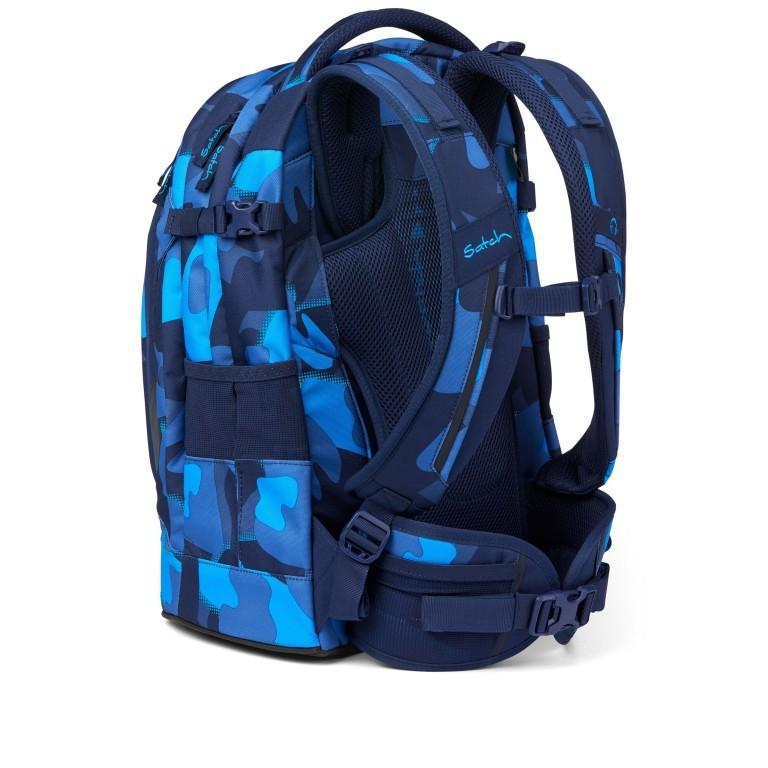 Rucksack Pack, Farbe: schwarz, anthrazit, grau, blau/petrol, grün/oliv, rot/weinrot, flieder/lila, rosa/pink, orange, gelb, bunt, Marke: Satch, Abmessungen in cm: 30.0x45.0x22.0, Bild 4 von 12