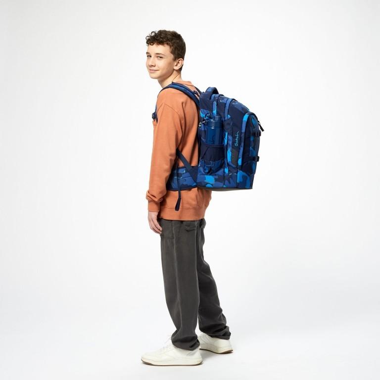 Rucksack Pack, Farbe: schwarz, anthrazit, grau, blau/petrol, grün/oliv, rot/weinrot, flieder/lila, rosa/pink, orange, gelb, bunt, Marke: Satch, Abmessungen in cm: 30.0x45.0x22.0, Bild 9 von 12