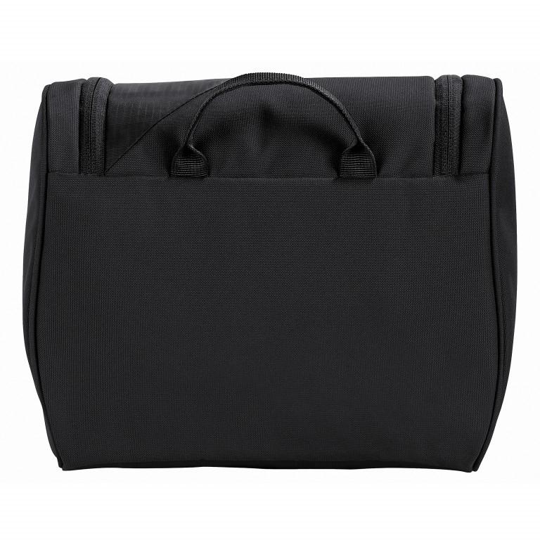 Kulturbeutel Tecotorial Tecowash II Volumen 7 Liter Black, Farbe: schwarz, Marke: Vaude, EAN: 4052285713072, Abmessungen in cm: 26.0x22.0x16.0, Bild 2 von 3