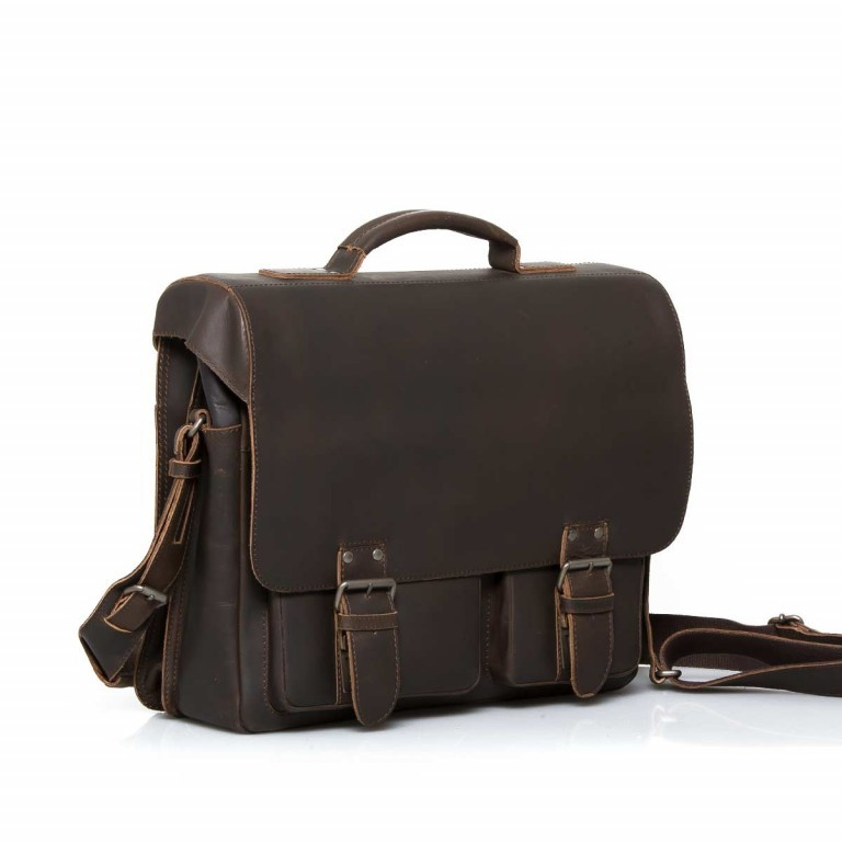 Aktentasche Hunter Finn 15 Zoll Vintage Tan, Farbe: cognac, Marke: Aunts & Uncles, EAN: 4250394905177, Abmessungen in cm: 38.0x31.0x15.0, Bild 3 von 5