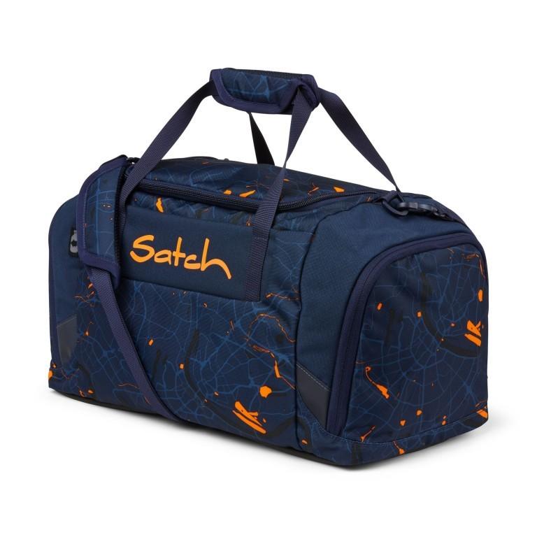 Sporttasche, Farbe: schwarz, anthrazit, grau, blau/petrol, grün/oliv, rot/weinrot, flieder/lila, rosa/pink, orange, gelb, bunt, Marke: Satch, Abmessungen in cm: 45.0x25.0x25.0, Bild 1 von 5